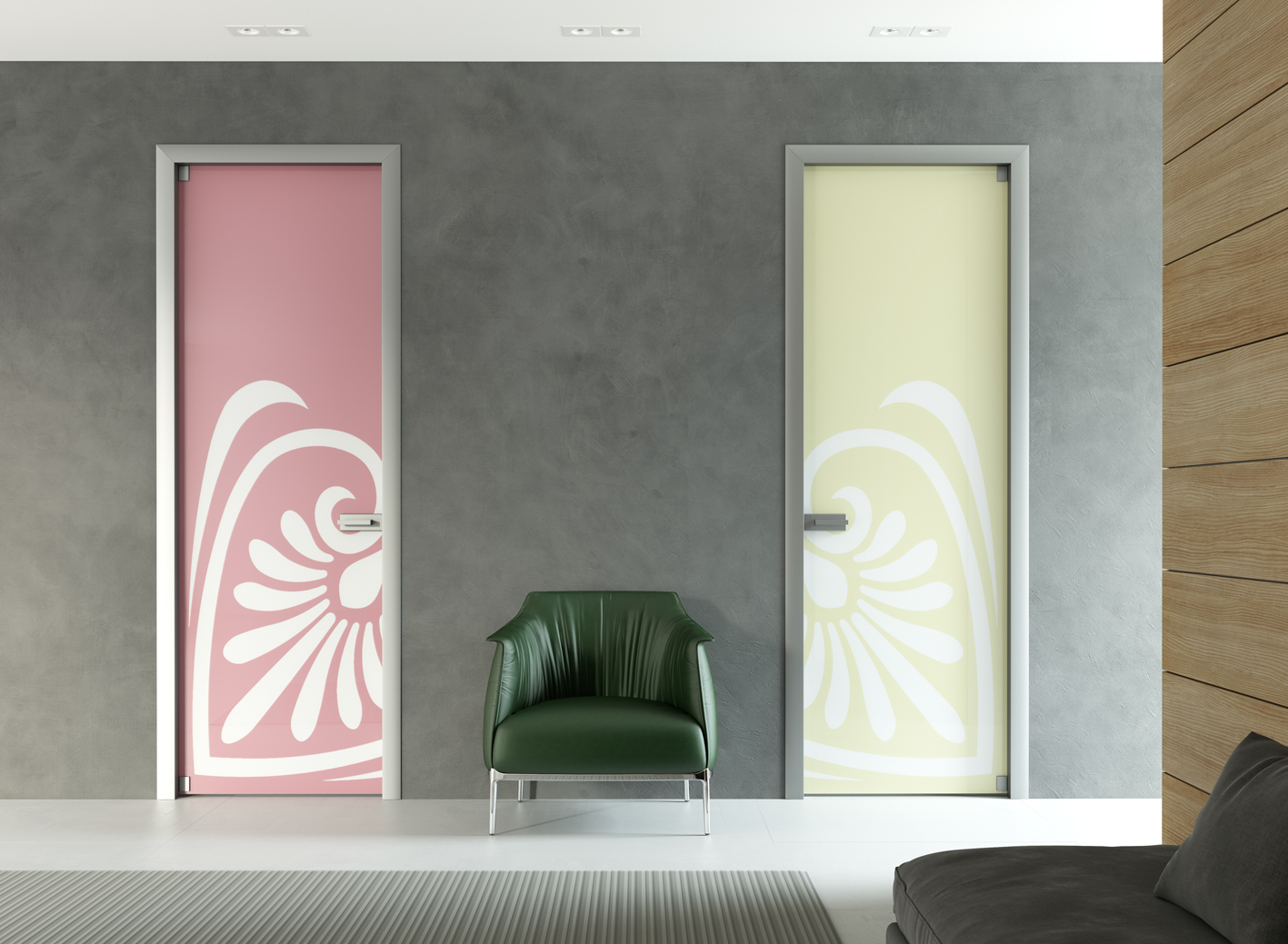 Porte Cristallo A Scomparsa.Porte In Vetro Porte Vetro Mr Art Design Tutto Vetro Glass Door